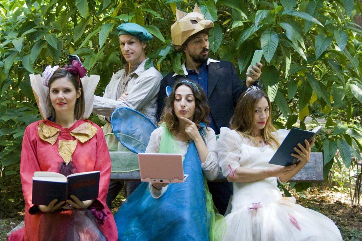 Η Επιστροφή των Παραμυθιών:  Μία παράσταση για τη φιλαναγνωσία